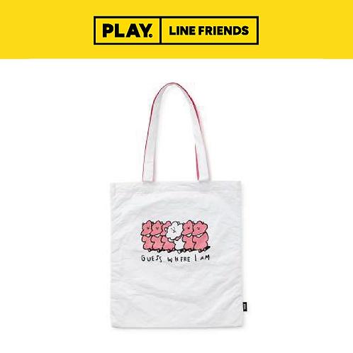 BT21 Music Tyvek Shoulder Bag - White #RJ