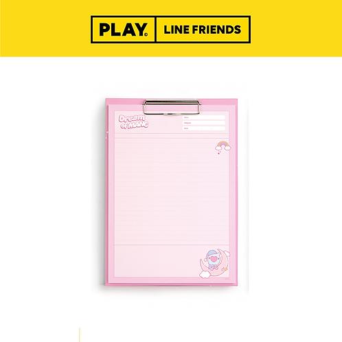 BT21 Clipboard & Notepad Set A4 [Dream] #MANG