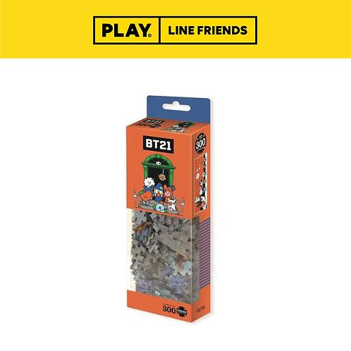 BT21 Wide Jigsaw Puzzle (300pcs) #Halloween