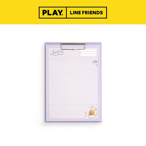 BT21 Clipboard & Notepad Set A4 [Dream] #SHOOKY