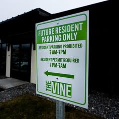 Property Parking Sign