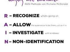 TIPPS für den gesunden Umgang mit negativen Emotionen