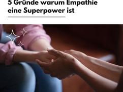 5 Gründe, warum Empathie eine Superpower ist