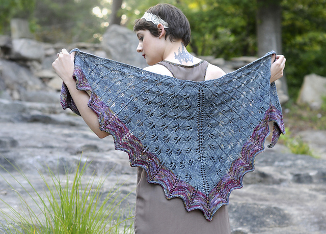 We have lots of shawl patterns