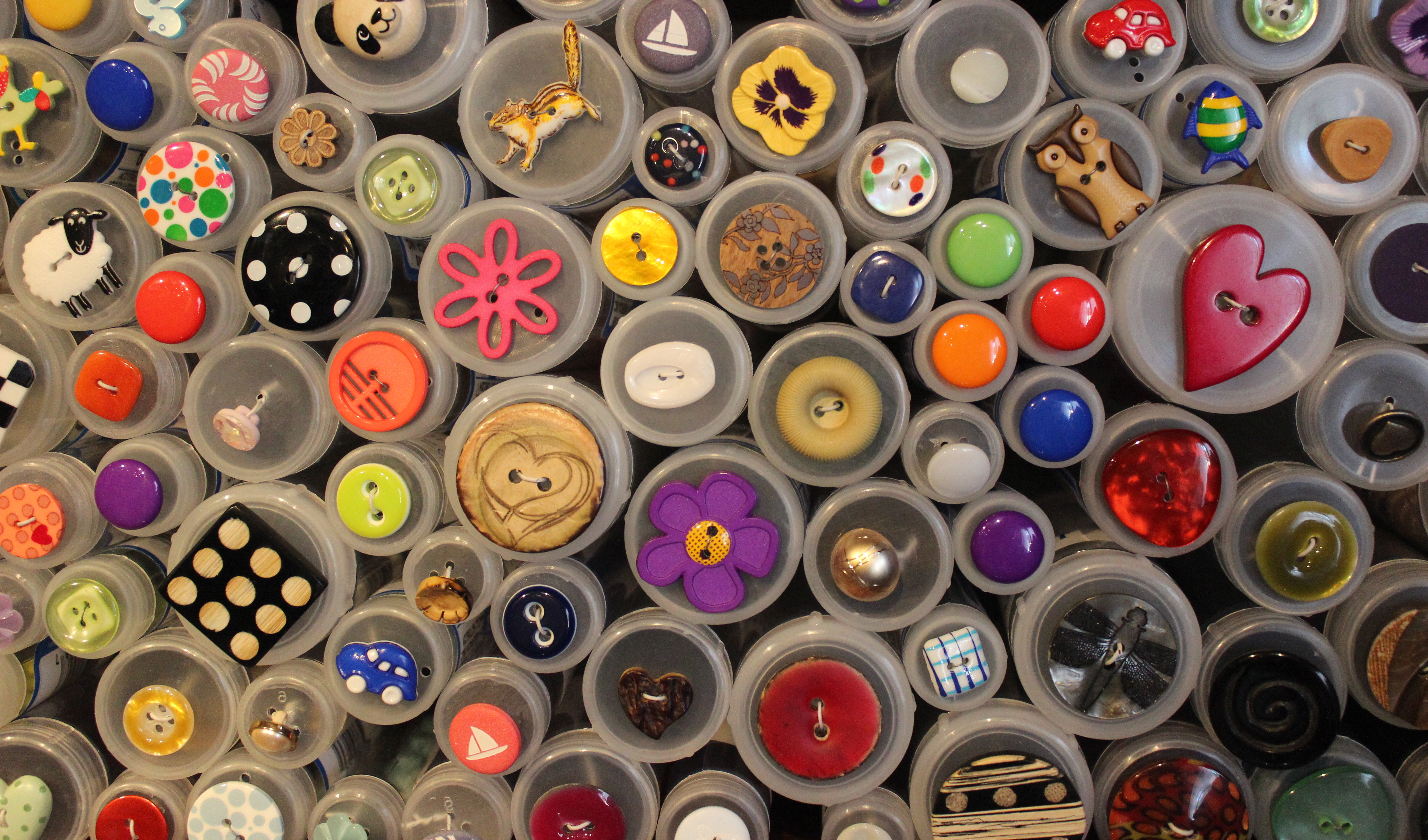 lots of buttons!