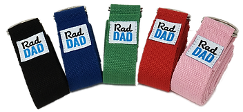 Rad Dad Yoga Straps