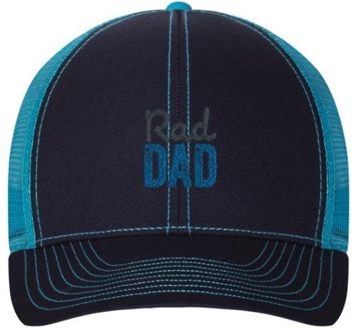 Rad Dad Trucker Hat Teal