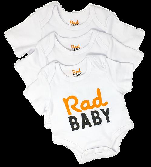 Rad Baby Onesies (Package of 3)