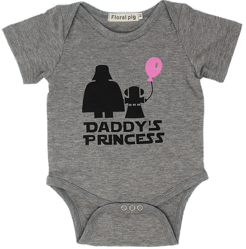 Rad Baby Daddy's Princess Onesie