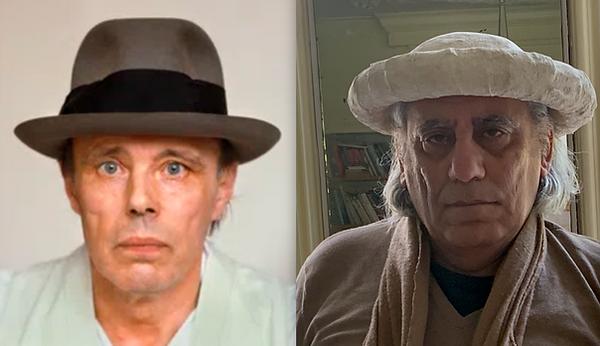 Hoed Beuys en Hoed grootvader Sassoon Se