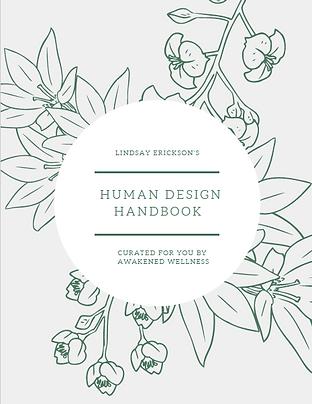 Your Human Design Handbook: Digital PDF  +  25-min Call