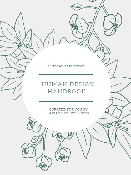 Your Human Design Handbook PLUS 25-min Call