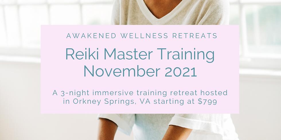 Reiki Level III/Master Training Retreat