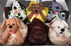 ASSORTED CUPCAKES WITH CUSTOM HAND-MADE