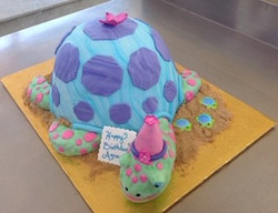 TURTLE THEMED SPECIALTY CAKE