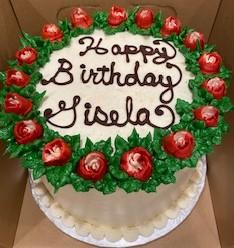 RED VELVET CAKE WITH CREAM CHEESE FROSTI