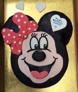 MINI MOUSE THEMED CAKE