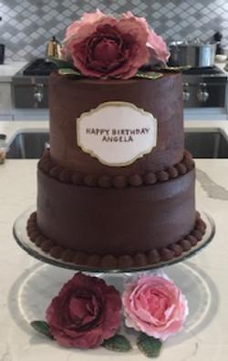 CHOCOLATE GANACHE CUSTOM CAKE