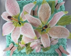 HAND-MADE SURGAR LILLIES