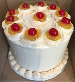 PINEAPPLE UPSIDE DOWN 3 LAYER 8 INCH