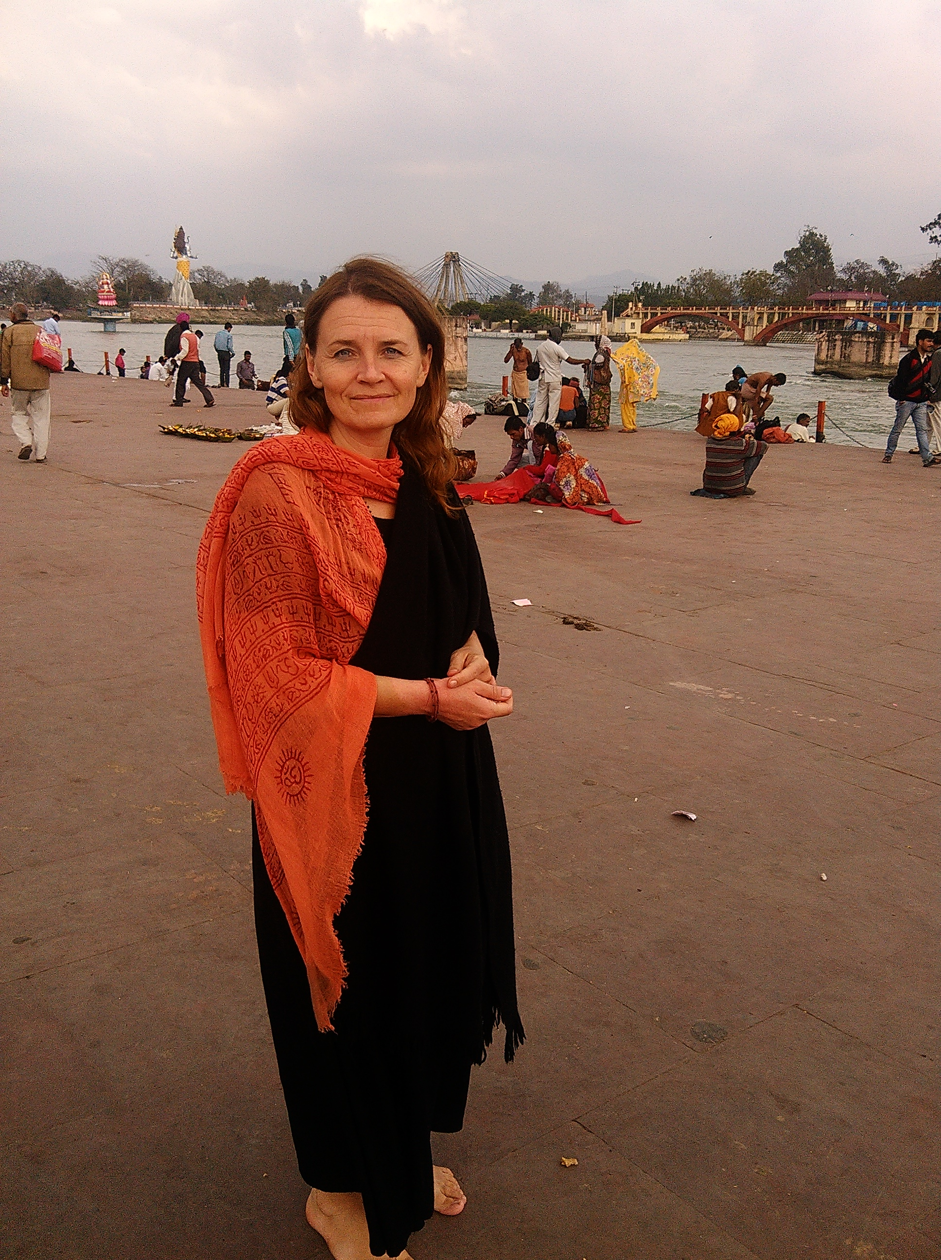 In Kankhal at Ganga