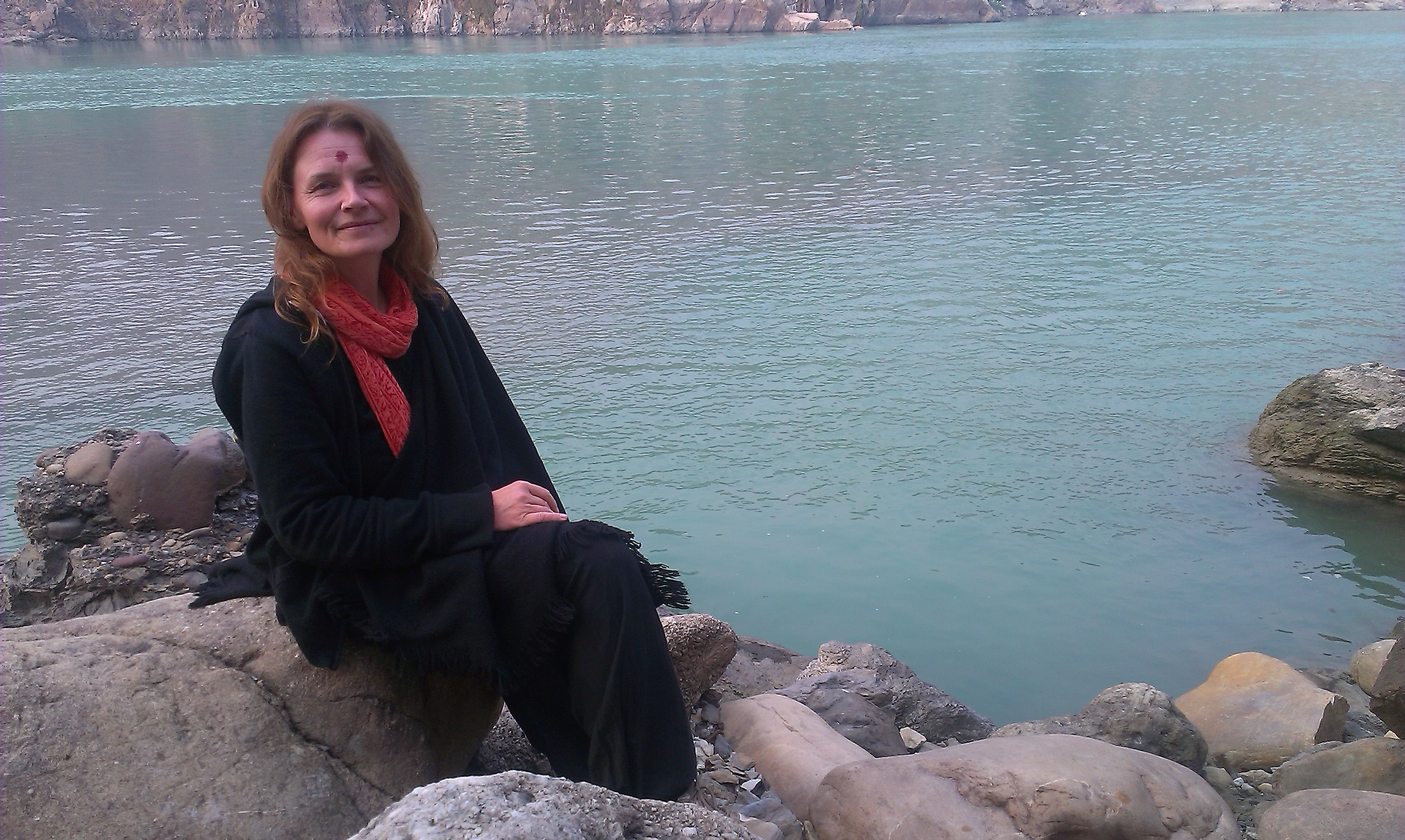 At the Ganga in Rishikesh