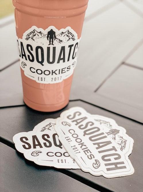 Sasquatch Cookies Sticker