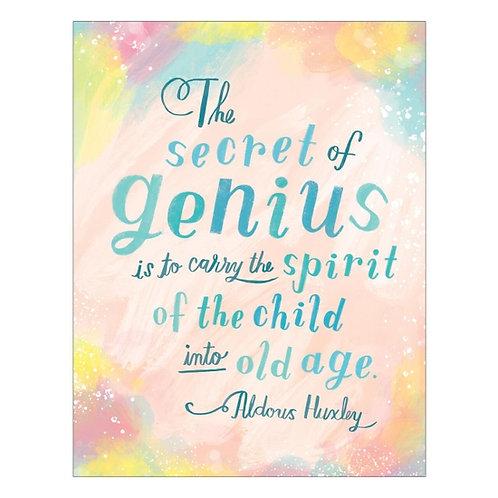 Secret of Genius Birthday
