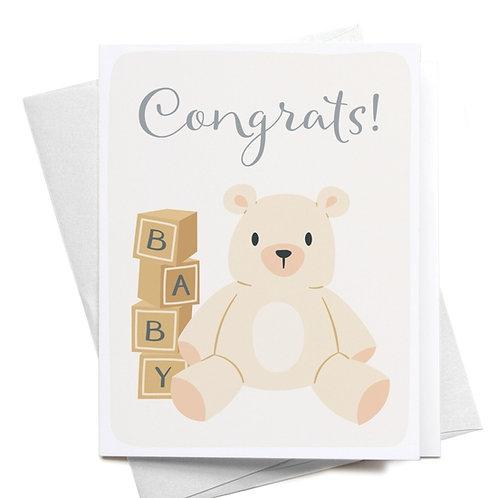 Congrats! Teddy Bear