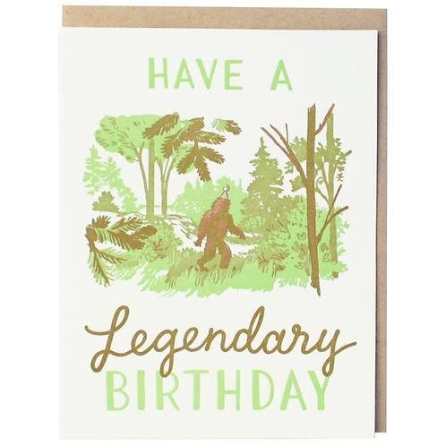 Legendary Sasquatch Birthday