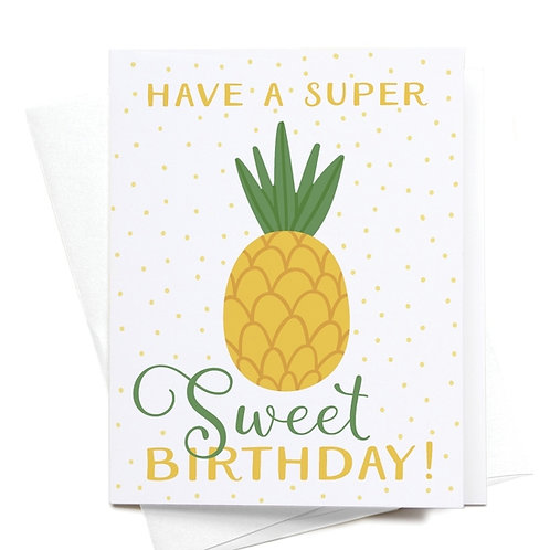 Have a Super Sweet Birthday!