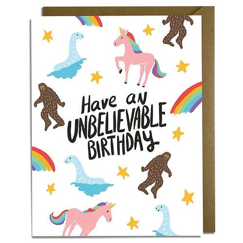Unbelievable Birthday