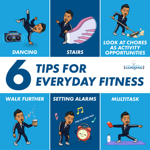 6 Tips For Everyday Fitness