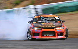 240sx S14 Sports car drifting