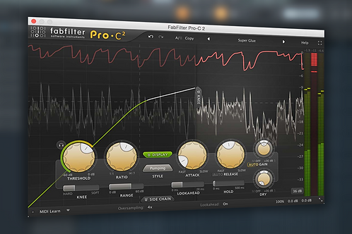 How to use Fabfilter Pro-C 2