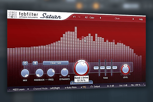 How to use Fabfilter Saturn