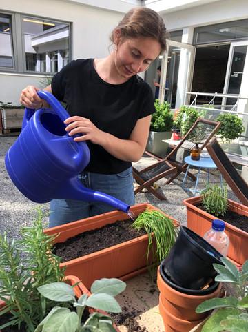 jael hartmann, urbanroots, urban gardening workshop