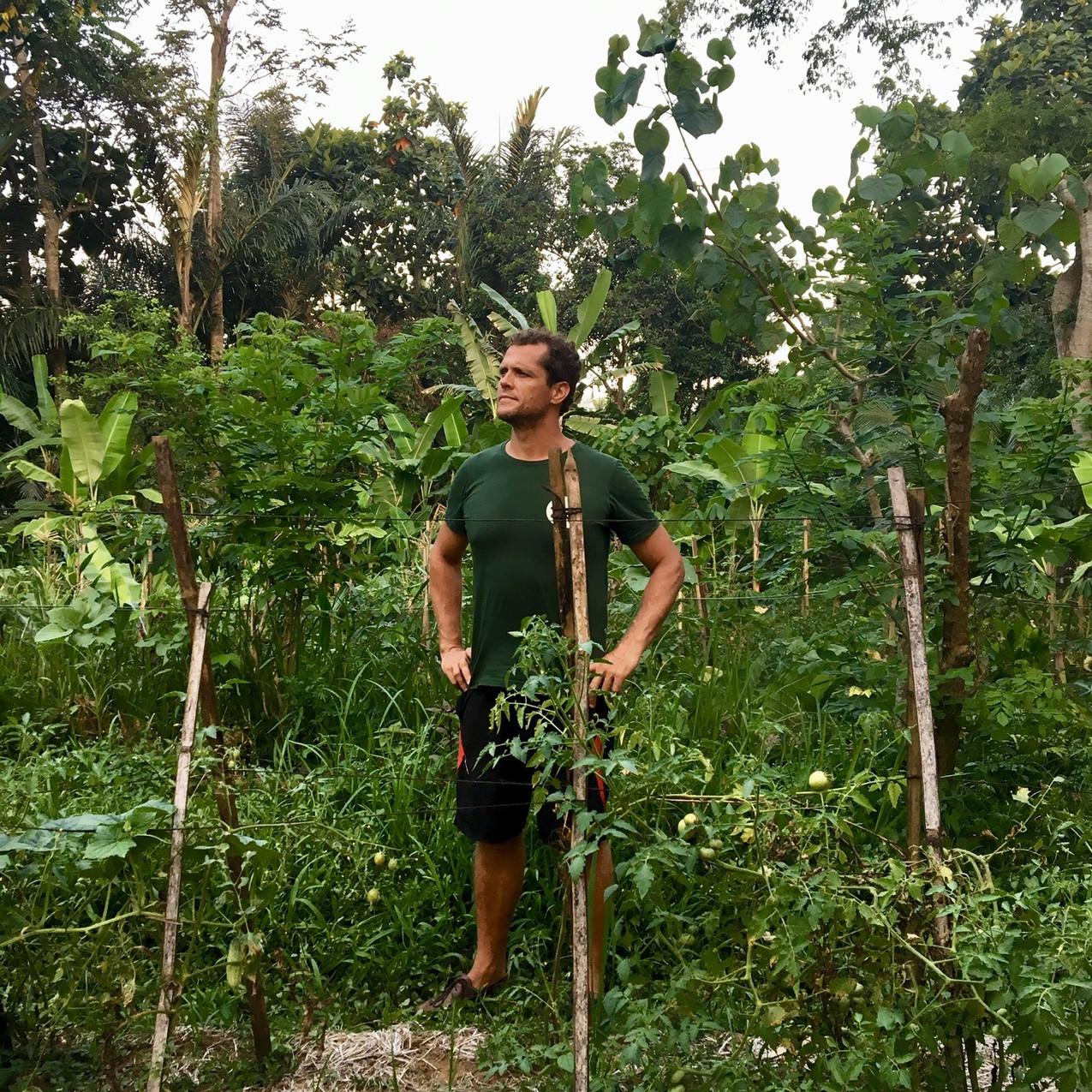 Chris Shanks, our permaculture teacher.
