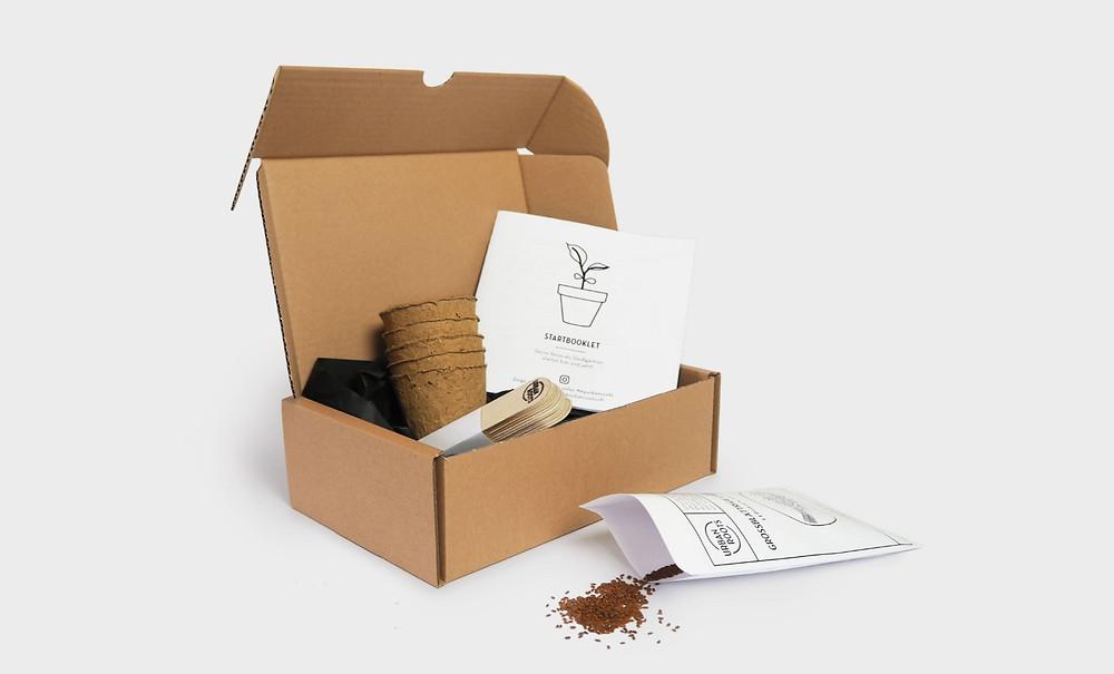 Saatgut, Startbox, urbanroots, urban roots, bio samen, schweizer samen, sativa rheinau, biologisch, nachhaltiges geschenk, no plastic, plasticfree