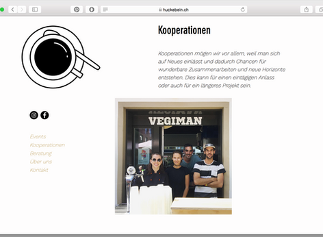 New Website for Huckebein