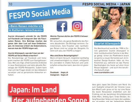Social Media Management for FESPO