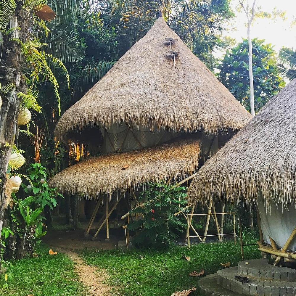 Permakultur, Permakultur Design Kurs, Bali, Kul Kul Farm, Bambus, Jurte