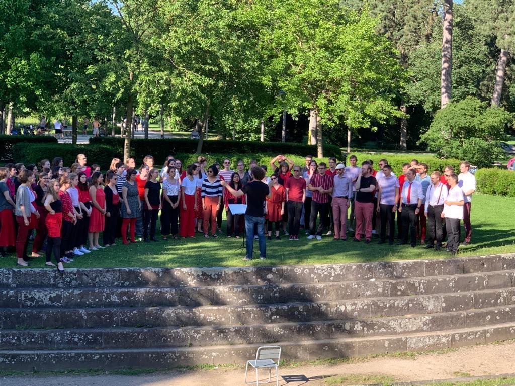Blumenstrauss Konzert im Kannenfeldpark 2019