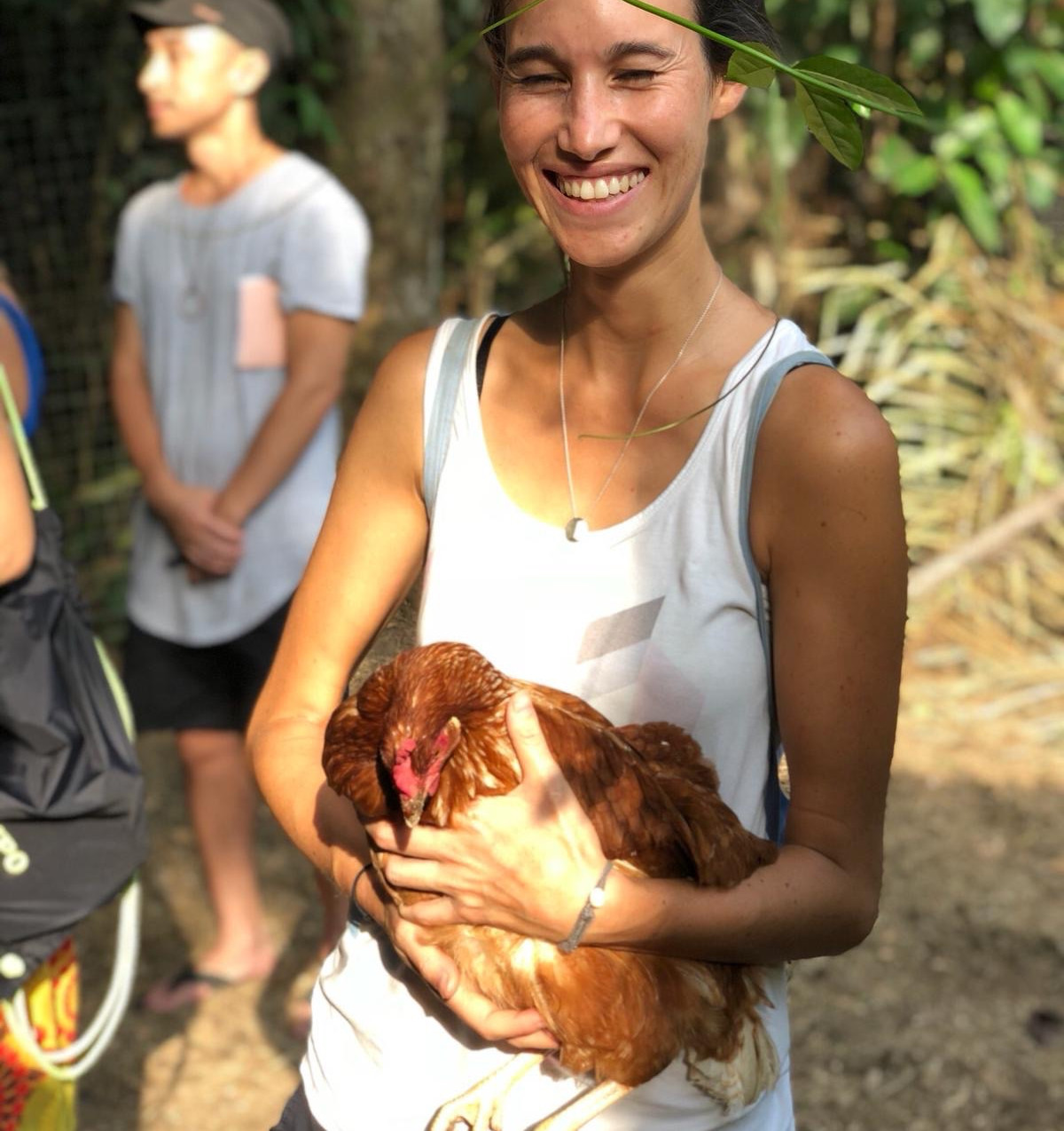 Animals are a big part of permaculture. They take over where often chemicals are used. Like for fertilization (manure) or pest control (chicken love insects).