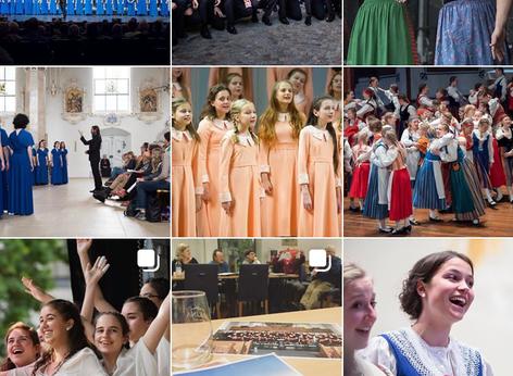 European Youth Choir Festival on Social Media
