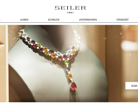Seiler Juwelier: New Website and Social Media
