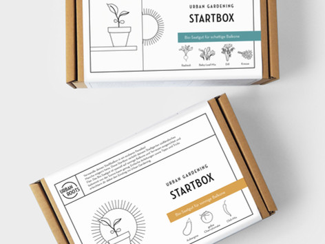 New Packaging Design for urbanroots