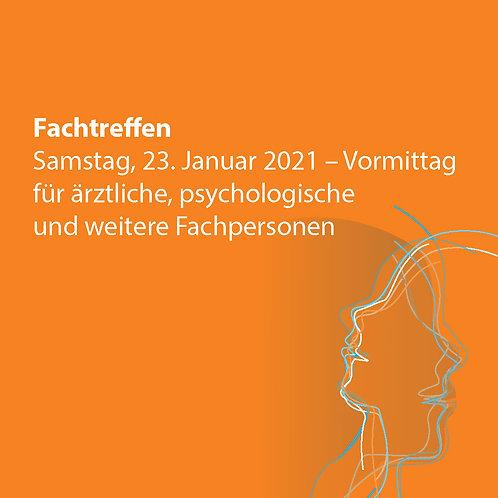 Fachtreffen, 23. Januar 2021