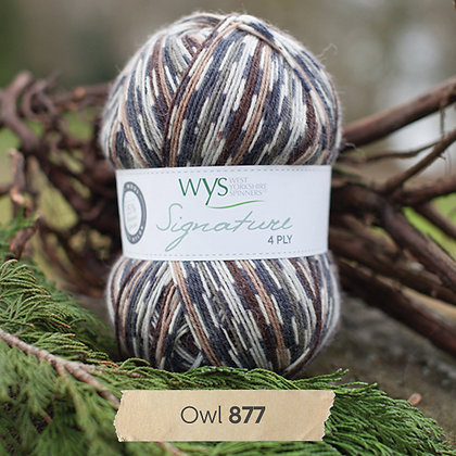 Signature 4ply Bird Collection WYS