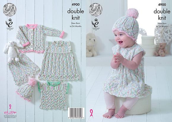King Cole 4900 Knitting Pattern
